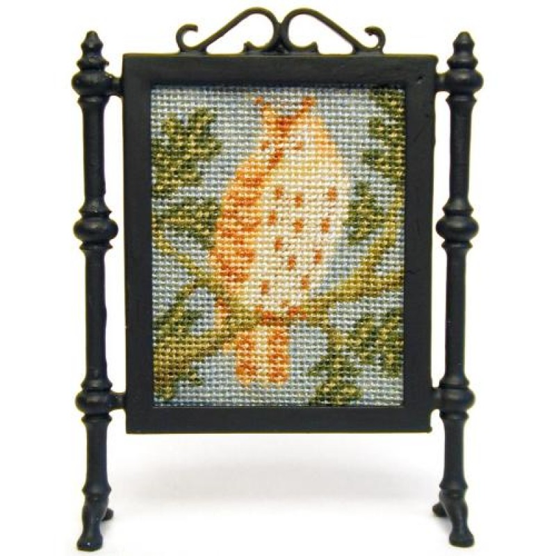 Little Owl Dolls' House Needlepoint Firescreen Kit