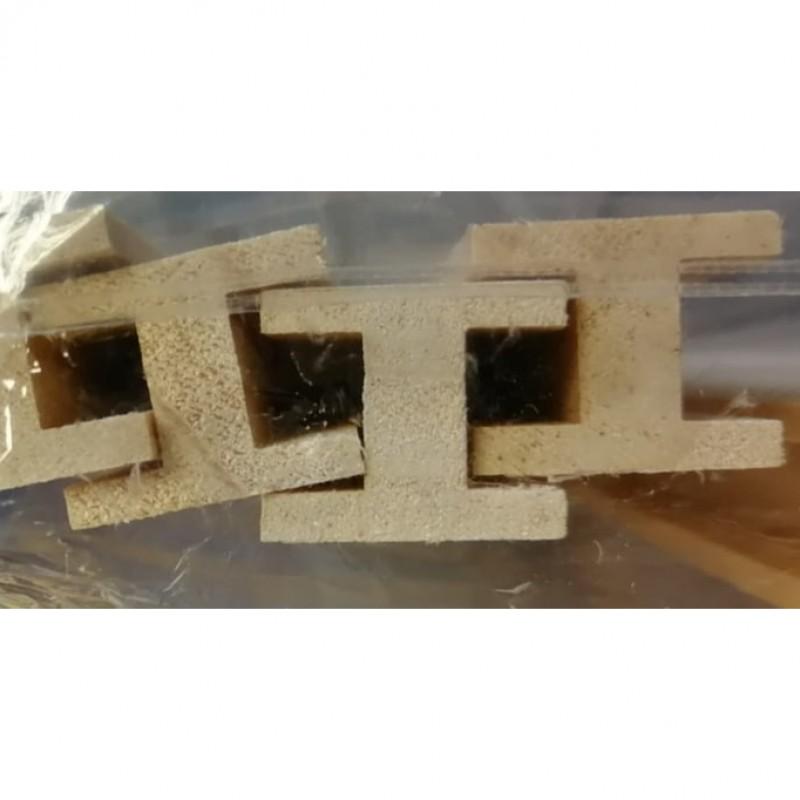 Timber 'H' Beam/Length pk6