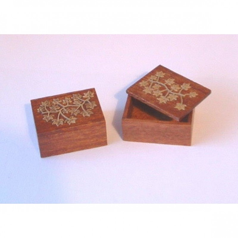 Just A Box Kit With Brass Decoration