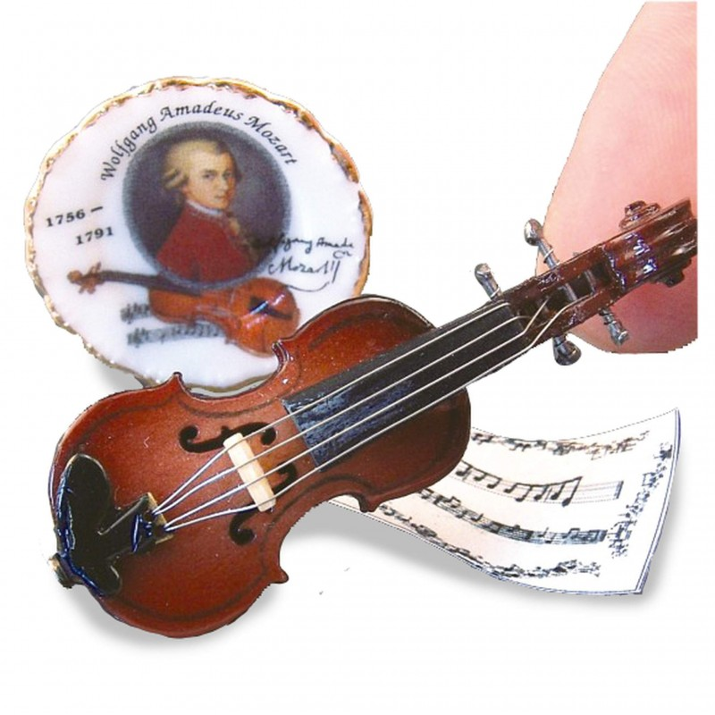 Violin And Plate