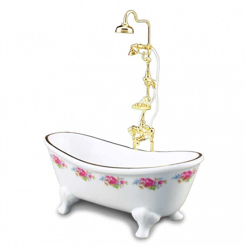 Dresden Rose Bath and Shower attachment