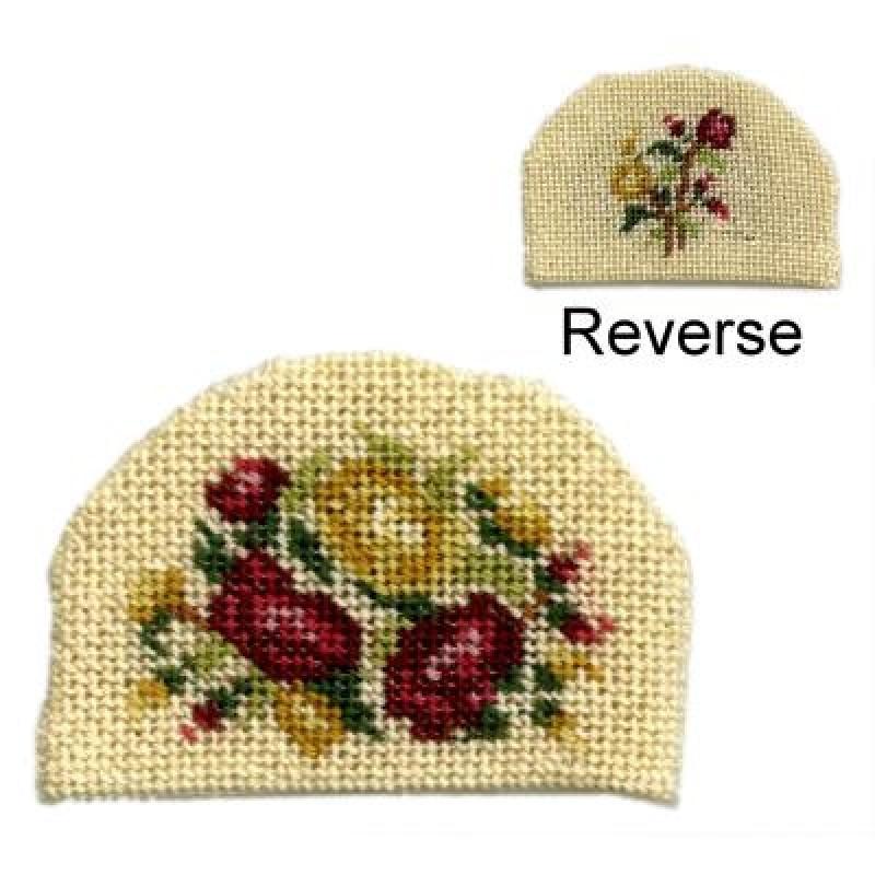 Summer Roses Dolls' House Needlepoint Teacosy Kit