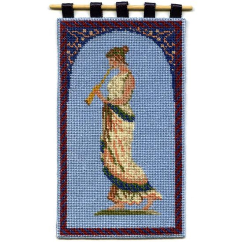 Grecian Musician Dolls' House Needlepoint Wallhanging Kit