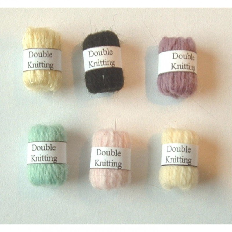 Knitting Wools, 6 Pack