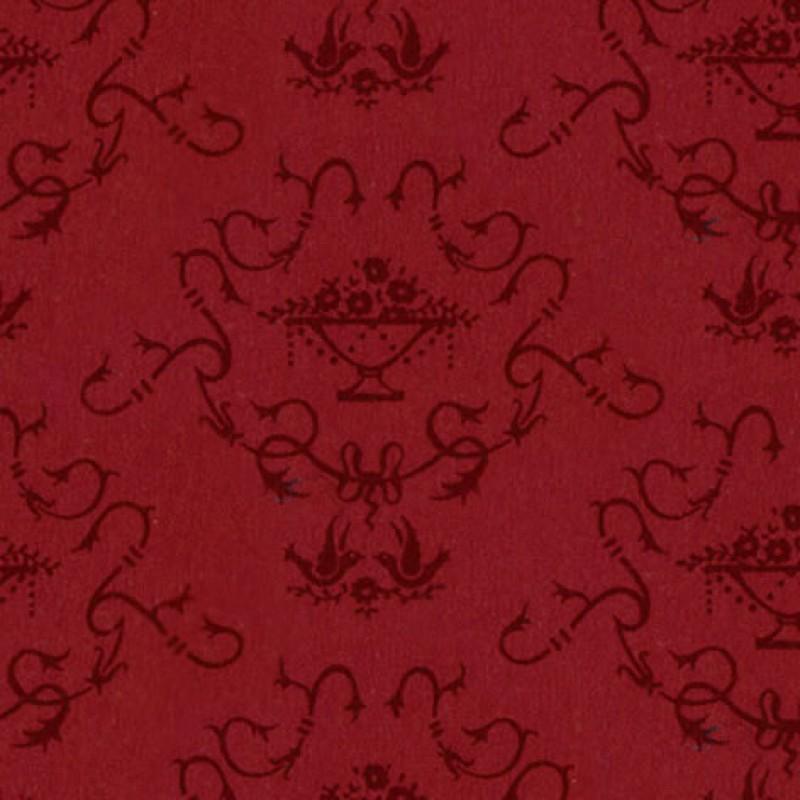 Small Interiors Bettiscombe Red