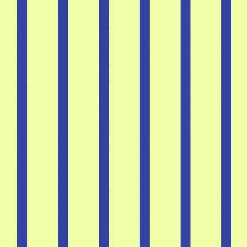 Small Interiors Stripe Dark Blue