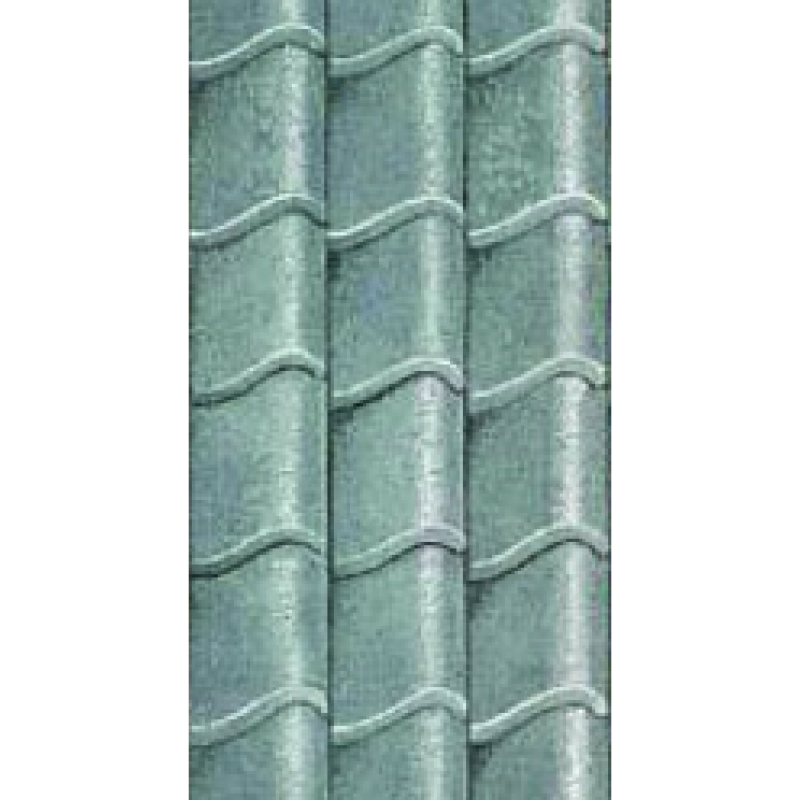 Pantile Grey Roof Paper