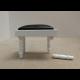 Classical White Grand Piano & Stool ***SECONDS***