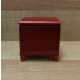 Commode with Extending Footrest Mahogany Finish ***SECONDS***