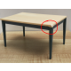 Modern Table Blue/Pine ***SECONDS***