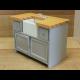 Grey/Pine Shaker-style Sink Unit ***SECONDS***
