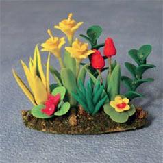 Dolls' house garden plants