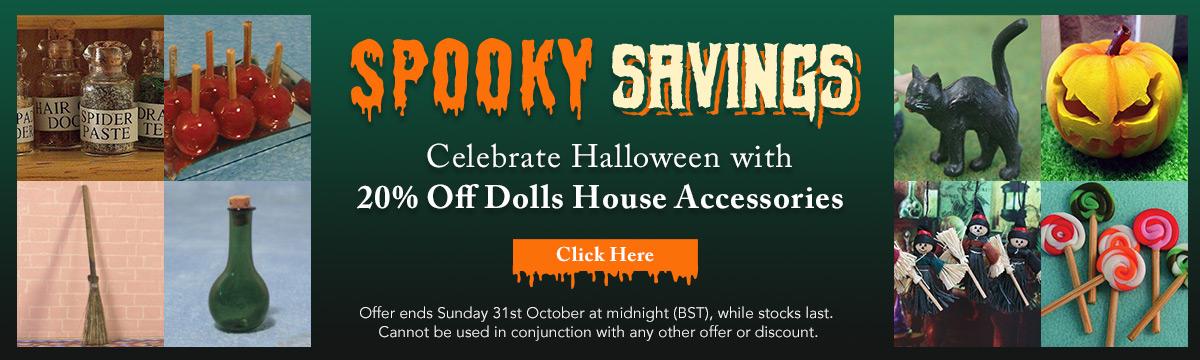 Spooky Savings! 20% Off Accessories
